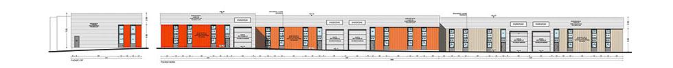 bâtiment de 380 m2